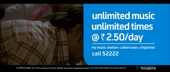 uninor unlimited music