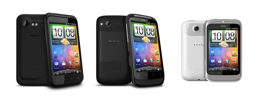 HTC Incredible S, Desire S and Wildfire S