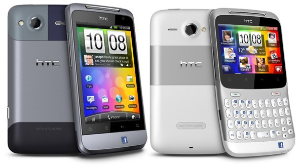 HTC Chacha and Salsa - Facebook phone