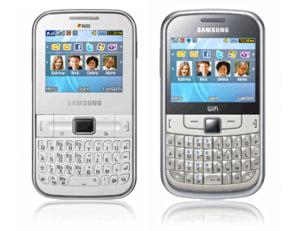 Samsung Chat 322 and Chat 355