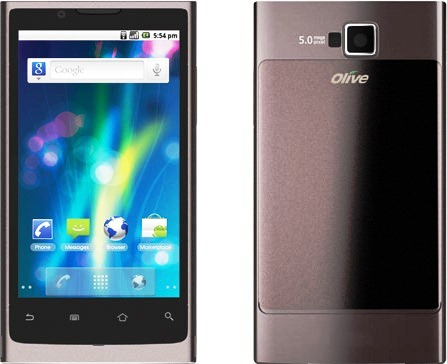 Olive V-S300 Android 2.3 price features