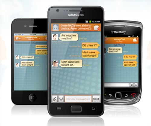 chaton mobile instant messenger