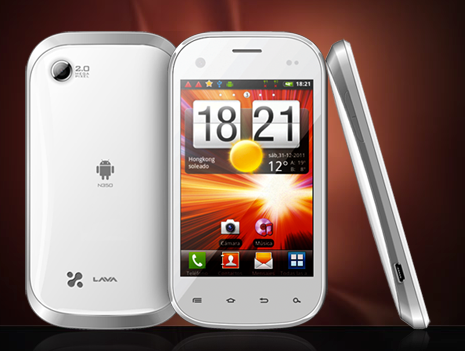 Lava iris n350 android phone