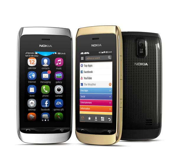 nokia Asha 308 309 India launch