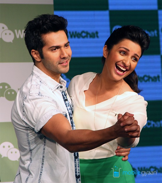 wechat launch rahul dhawan parineeti chopra