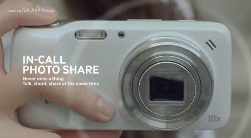 Samsung Galxy S4 Zoom Commercial