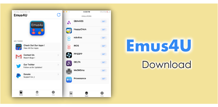 Emus4U App Installer Download for iOS