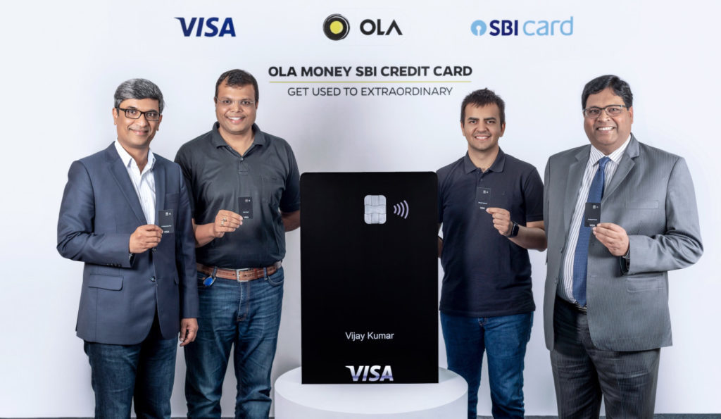 OLA Visa Credit Card Launched in Association with SBI