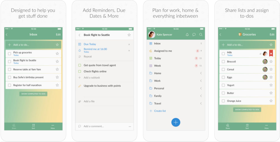 Wunderlist Android