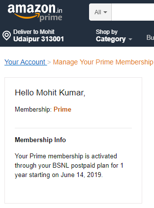 activate free Amazon Prime Subscription for 12 months (2)