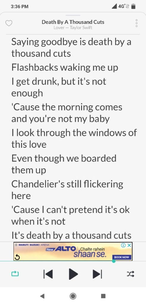 obtain song lyrics for free on android